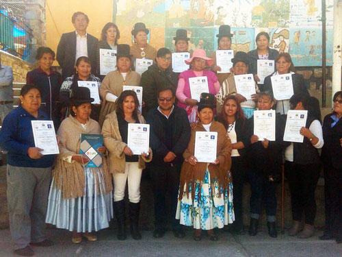 Mujeres privadas de libertad acceden a la certificación de competencias