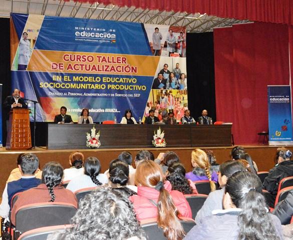 Resultado de imagen para EDUCACIÓN CAPACITARÁ A AUXILIARES Y PORTEROS DEL SISTEMA EDUCATIVO PLURINACIONAL