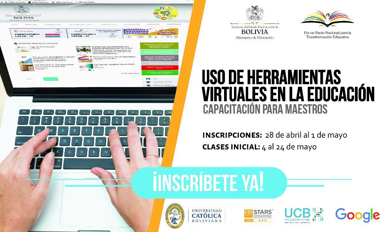 Convocatoria Inscripciones Abiertas Para La Capacitacion De Maestros En Toda Bolivia